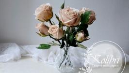 Букет троянд, декор інтер′єру