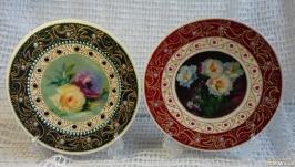 тарелки расписные набор точечная роспись