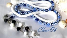 Lariat ′San Marino′ Decoration Lariat convertible necklace