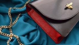 Кожаная сумка ′МАРИАННА′