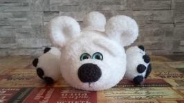 Медвежонок Белый медведь Мягкая игрушка