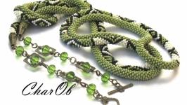Lariat ′Polina′- 2 Lariat transformer olive