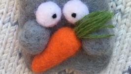 Морковку хочешь?)))