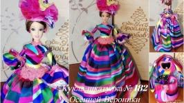 под заказ Кукла шкатулка №182 подарок девушке,маме,дочери на день рождение