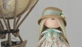 Интерьерная текстильная кукла Софи