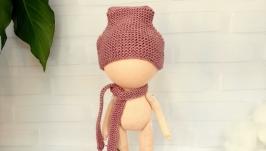 Мастер-класс по вязанию шапочки-бини для куклы