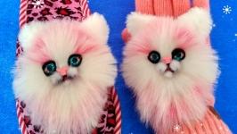 Нашивки Розовые кошечки