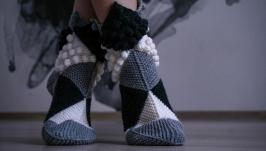 Носки Ножки Эльфа шахматные