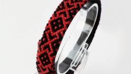 Вышитый браслет ′Ukraine ornament′