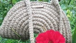 Каркасная сумка Ракушка