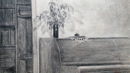 Интерьер с пианино   Interior with a Piano