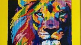 Радужный лев.