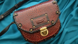Кожаная сумка ′САНДРА′