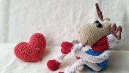 Інтер′єрна іграшка зимовий олень