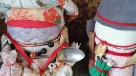 Обережные куклы богач и богачка