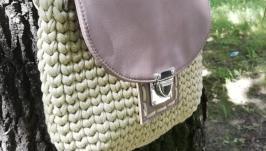сумка цвета хаки