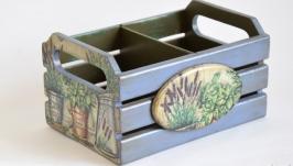 Ящик для специй ′Травы Прованса′
