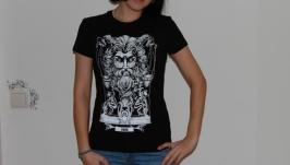 ВЕСЫ. Дизайнерские футболки Зодиак.