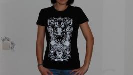 ТЕЛЕЦ. Дизайнерские футболки Зодиак.