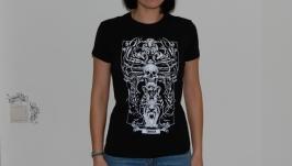 РАК. Дизайнерские футболки Зодиак.