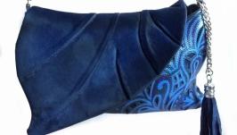 Кожаная сумка ′Листок′
