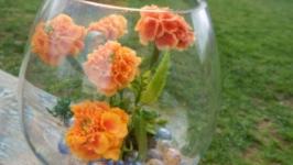 Цветы из полимерной глины ′Бархатцы′