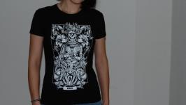 ЛЕВ. Дизайнерские футболки Зодиак.