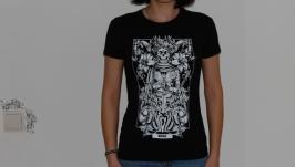 ДЕВА. Дизайнерские футболки Зодиак.