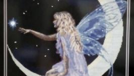 Вышитая картина ′Фея луны′