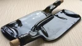 Бутылка-тарелка ′Дуэт′