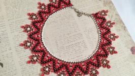 Ожерелье силянка в украиснком стиле