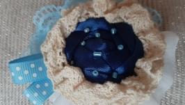 Брошь текстильная ′Акварель′