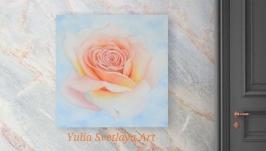 Картина маслом Роза