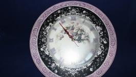 Часы настенные ′Ежевичные′