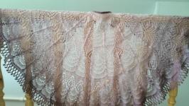 Ажурная шаль-накидка ′Фрея′