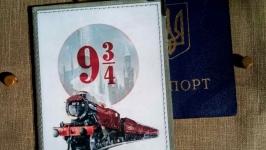 Обложка для паспорта Хогвартс-экспресс
