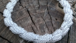 Браслет из бисера ′Ракушка′