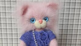 Кошечка вязаная Мила