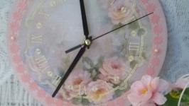 Часы настенные ′Розовые грезы′