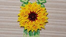 4. Колье ′Уичольский цветок′