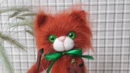 Кот вязаный Скрипач