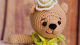 Вязаная игрушка ′Мишка Лилия′