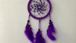 Фиолетовый сиреневый ловец снов