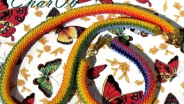 Necklace ′Rainbow arc′