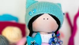 Лялечка блакитна Киця
