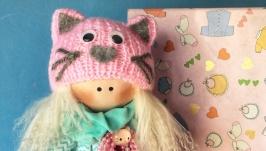 Лялька Рожева Киця