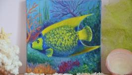 Картина маслом Тропическая рыба