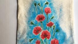 Еко торбинка ′Маковий цвіт′