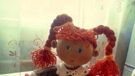 Куклы ручной работы текстильные интерьерные