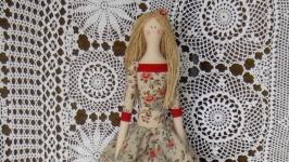 Кукла в стиле тильда Эрика 48см